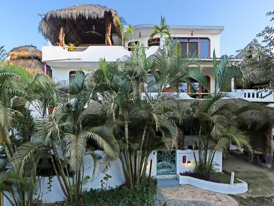 Photo for BIG 2 BR VILLA BY BEACH, BLK TO PLAZA--WEDDING PARTIES, families, friends,
