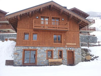 Photo for GRIZZLY BETAILLOU CHALET LES MENUIRES THE BETTAIX