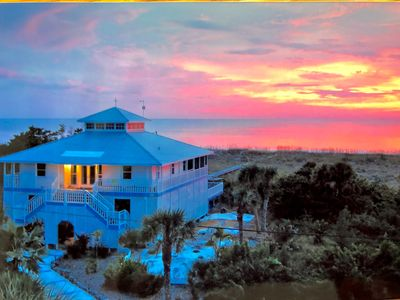 Photo for Beach front. Panoramic sunsets. Unrivaled seclusion.