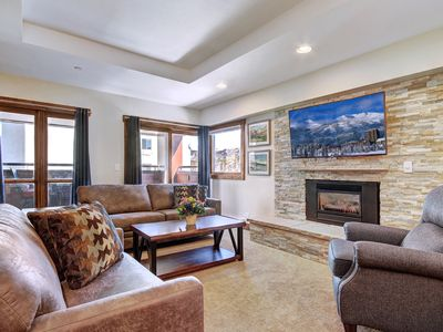 Photo for Enjoy Ski in Ski out and 1/2 Block off Main St. in the Nicest Village Condo!