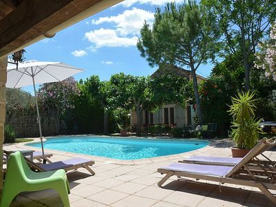 Photo for Holiday home in Arles, near Camargue, privacy near pool, pet admited
