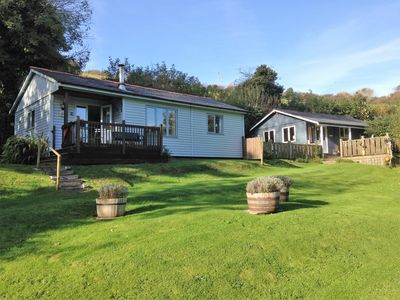 Photo for Pine Lodge Nestling In Secluded Valley Only 5 Minutes By Car From Bantham Beach