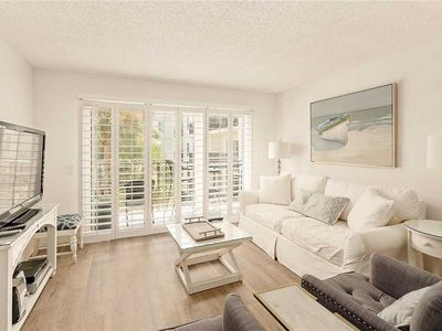 Photo for Oceanfront Condominium with Courtyard Views.Perfect for Small Families Beach Access