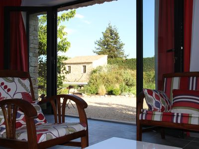 Photo for Pied à terre of 40 m2 in a house in the municipality of Gordes