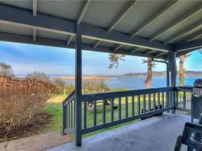 Photo for Phenomenal Ocean, Bay, Bridge and River Views from this Cozy Beach Home!