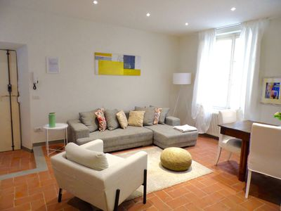 Photo for Casa dei Glicini apartment in the historic center / 2 bathrooms / 2 bedrooms