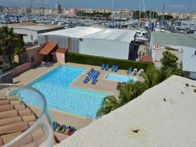 Photo for Apartment Cap d'Agde, studio flat, 6 persons