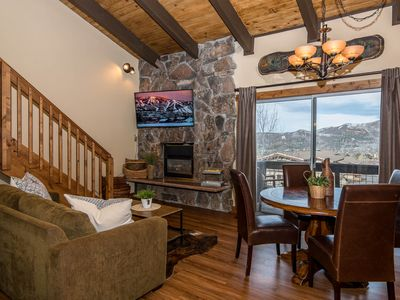 Photo for Storm Meadows East 63 by SLBCo | Stay on the Slopes | Lots of Bedding | Ski Out/Walk In