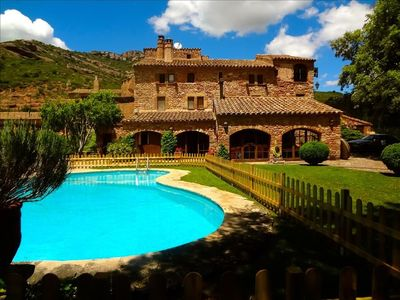 Photo for Catalunya Casas: Masia Sant Llorenç for 16 people in the mountains of Barcelona!