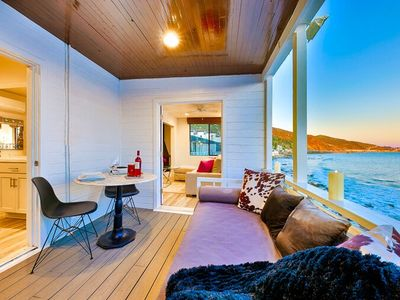 Photo for Stunning Oceanfront Home, Endless Views + Steps Above Beach