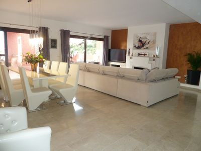 Photo for Luxurious 3 bed modern penthouse with stunning sea views and large terrace