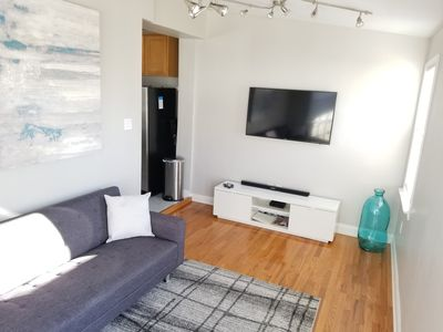 Photo for Remodeled Two-Unit Condo w/ Free Parking and Deck in Bloomingdale/Shaw