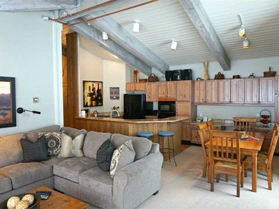 Photo for Assay Hill ski-in/ski-out condo with shared hot tub and pool