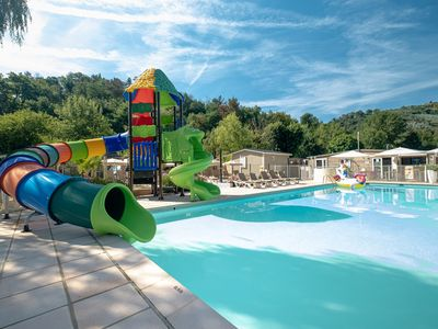 Photo for Camping Parc des Monges - Mobile home, 2 bedrooms, 4 people