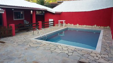 Photo for HOUSE 5Q (2 suites with AR) and POOL-Cond. Closed-NEXT BEST BEACH L. NORTE SP
