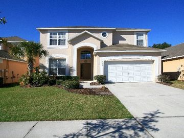 7 BR Luxury Villa - Large South-Facing Pool 4 Miles to Disney