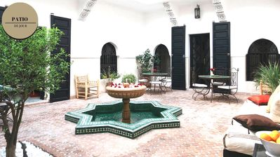 Photo for Pretty spacious and comfortable suite in charming Riad - Medina