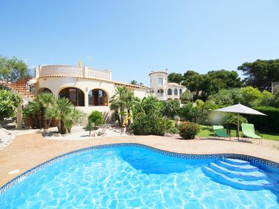 Photo for 2 bedroom Villa, sleeps 6 in Javea with Pool and WiFi