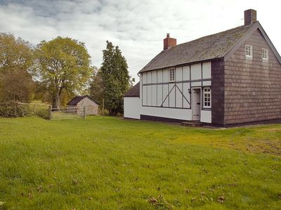 Photo for Cosy, Traditional Farm Cottage Set High In The Hills Of Powys