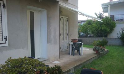 Photo for House with garden and barbecue 1 km from the sea, 2 bedrooms