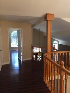 2nd level hall way. Master bed entrance.