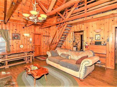 Photo for House 453 m from the center of Big Bear Lake with Parking, Internet, Washing machine, Balcony (983714)