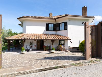 """Photo for Villa """"Cadamì"""" with swimming pool, surrounded by greenery with a garden of 2000 square meters"""
