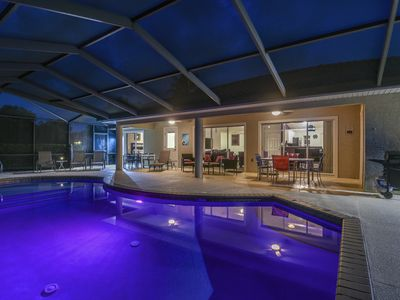 Photo for Beautiful Nature Coast Holiday 4-bedroom Villa with Private Pool in Florida