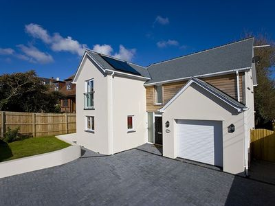 Photo for Rock House - contemporary house situated within a short walk of the beach