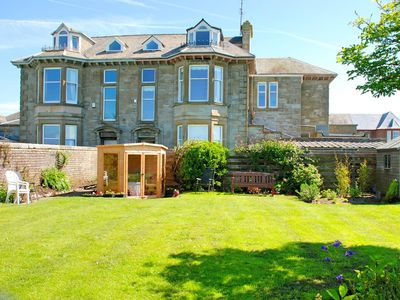 Photo for Superb Beach Front Property Overlooking Sea to Arran and Royal Troon Golf Course