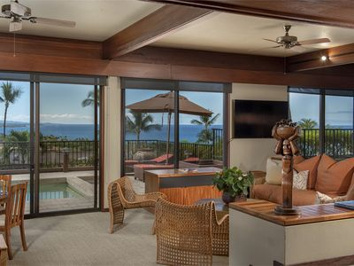 Photo for Exceptional Ocean View Villa At Mauna Kea, Walking Distance To Beach & Resort
