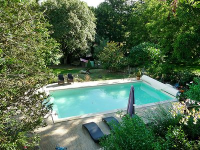Photo for 4 bedroom Villa, sleeps 10 in La Touche with Pool and WiFi