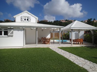 Photo for DIAMANT, charming friendly F5 villa in quiet subdivision, near the sea.