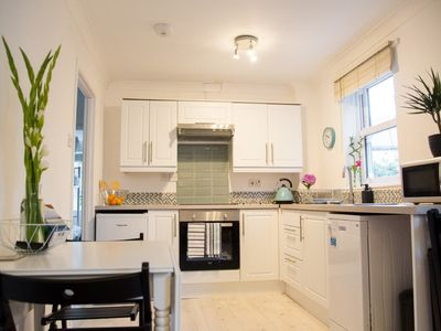 Photo for Bright Central 3 Bedroomed Falmouth Town Flat