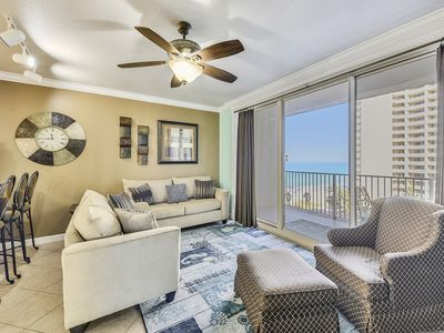 Photo for NEWLY UPDATED condo at the Shores of Panama w/ RESERVED parking on 3rd floor!