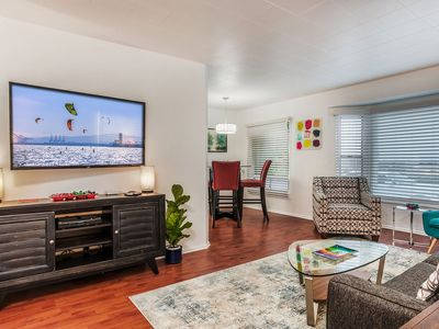 Photo for 1st Fl Apt-OCEAN VIEWS, BEACH ACROSS THE STREET, WALKING DISTANCE TO EVERYTHING