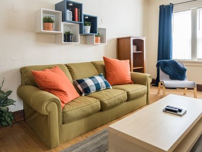 Photo for Spacious 1BR | Dining+Nightlife | Walk to the Lake