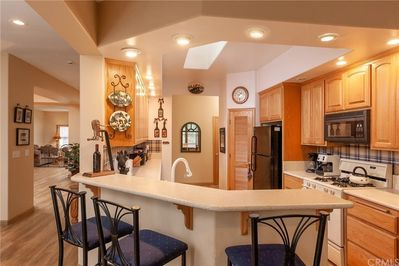 Kitchen  - Full View of Kitchen with Full Amenities