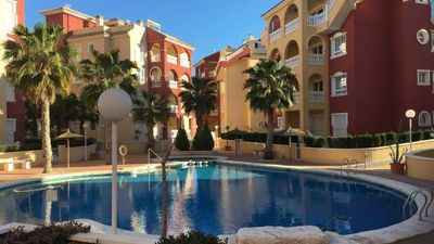 Photo for Puerto Marina 2 bedroom 2 bath apartment in Los Alcazares