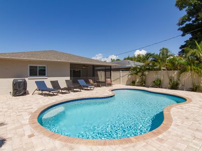 Photo for Totally remodeled, NEW South facing heated pool, large private deck area