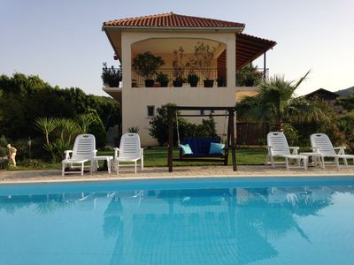 Photo for Luxury apartments with magnificent sea views. Gorgeous pool with terrace, a cozy