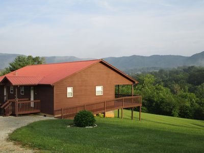 Photo for Mountain Cabin Getaway. 45 Minutes From Pigeon Forge And Gatlinburg