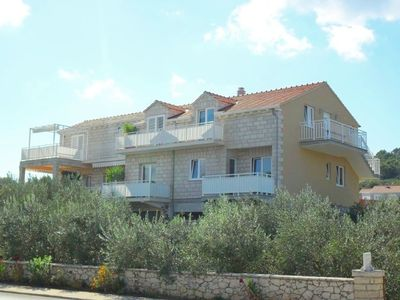 Photo for 1BR Apartment Vacation Rental in Lumbarda, island of Korcula