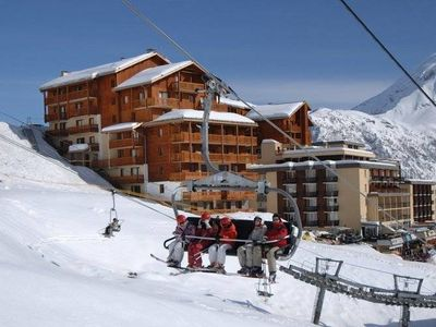 Photo for Cozy apartment in ski area with top of over 3 km. heights