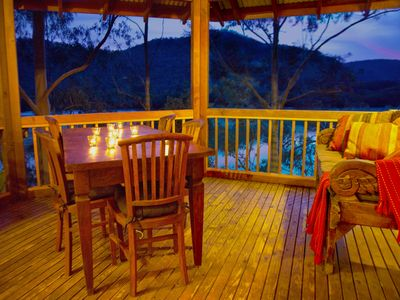 Photo for The Treehouse - Hawkesbury River. Tranquil waterfront cottage.