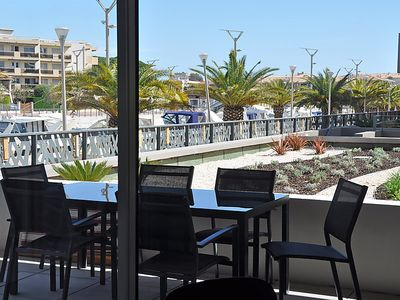 Photo for Apartment Le Newport  in Fréjus, Cote d'Azur - 4 persons, 1 bedroom