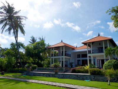 Photo for private luxury villa in the Asia Western style - fantastic location by the sea