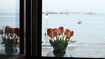 Photo for Apartment in Venice with a Beautiful View Laguna - Castello n. 2751 Venezia