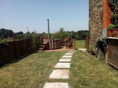 Photo for A lovely cosy converted barn, with original stone walls and lots of character.