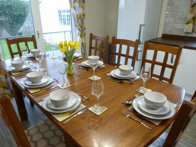 Photo for Cottage with Attitude! In walking distance to the Medieval Town of Pembroke.
